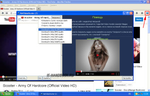 внешний вид NetVideoHunter Downloader